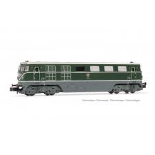 ÖBB, loc diesel classe 2050.05, livrée verte avec grand triangle, ép.
