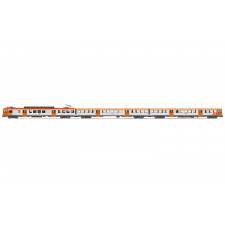 RENFE, 3-unit EMU class UT 440,  Regionales , period V, with DCC sound