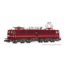 DR, loc elec classe 251, livré rouge avec ligne blanche de fine décora