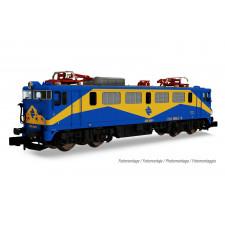RENFE, loc elec classe 269  Mazinger , livrée bleu/jaune, ép. IV,Sound