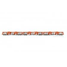 RENFE, set de 3 unités, autorail diesel classe 592 livrée  Regionales