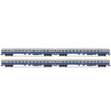 Set x 4 coaches   TMFB  Strasbourg-Berlin