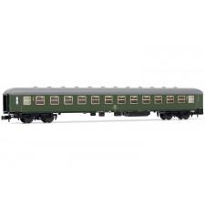 Coach 2nd class, type Bm233, DB, green, Epoch VI