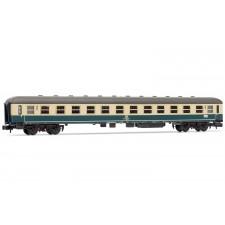 Coach end class, type Bm 238, blue/beige, Ep. IV