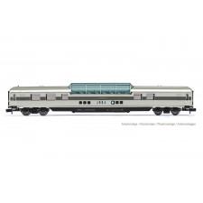 RailAdventure/LUXON, voiture panoramique, livrée gris, ép. VI