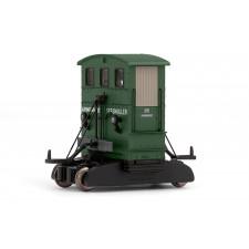 Breuer diesel shunter, green,  Armement Seegmüller