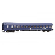 Sleeping car MU 1973 FS TEN livery, inclined logo