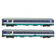 Set x 2 coaches UIC-X, 1st/2nd class + 2nd class