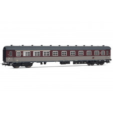 FS coach Type 59 mixed 1st/2nd class, rosso fegato livery