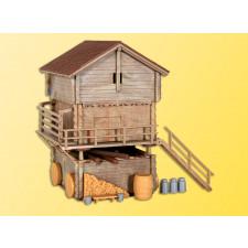 H0 Stall und Stadel