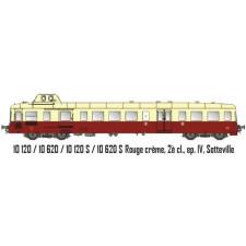 Picasso SNCF  Rouge crème, 2è cl., ep. IV, Sotteville 3 rails sound