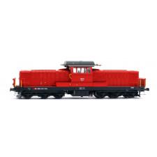 Locomotive Bm 6/6 SBB 3 rails sound