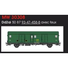 FOURGON METALLISE EX MIDI SNCF - FEUX DE FIN DE CONVOI/IV