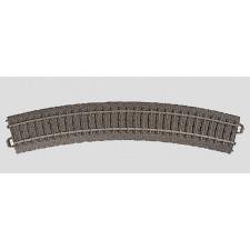 Rail courbe  r437,5 mm,30 Gr.