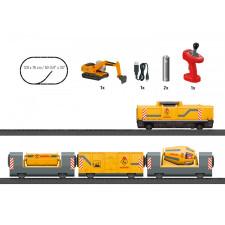 Startpackung   Baustellenzug   (Akku) MYWORLD