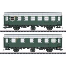 Umbauwagen-Paar, 2./3.+3.Kl., DB, Ep.III