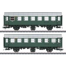 Umbauwagen-Paar, 2 x 3.Kl, DB, Ep. III