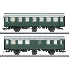 Umbauwagen-Paar, 3.Kl+Gep., DB, Ep. III