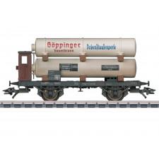 Gas-Kesselwagen, 3 Behälter, DRG, Ep. II - automne20