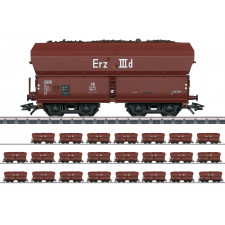 Erz IIId-Display, 24 Wagen OOtz41,DB,III