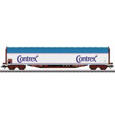 Wagon à bâche coulissante CONTREX sncf
