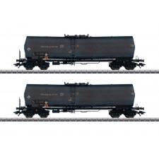 Kesselwagen-Set, Green Cargo, gealtert, Ep.V - automne20
