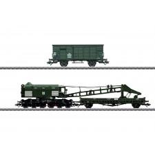 Grue à vapeur Ardelt 57t , DB ,époque III