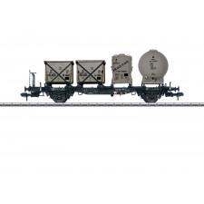 Behältertragwagen Lbs 584 DB