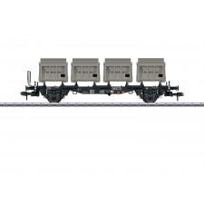 Behältertragswagen BTms 55 DB