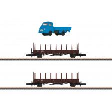 Wagenset Fahrzeugtransport DB