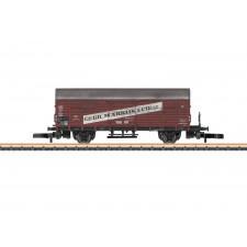 Wagon marchandises couvert G1 Dresden avec inscription publicitaire  M