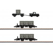 Behältertragwagen-Set DB