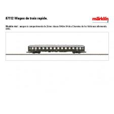 Schnellzugwagen Bm 243 DB