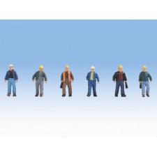 Ouvriers de chantier, , H0