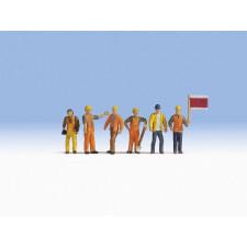 Ouvriers de voies