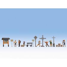 Figurines thématiques « A la montagne » ,