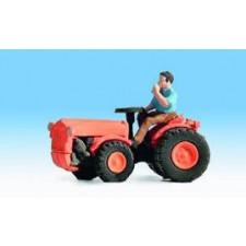 Tracteur à direction articulée