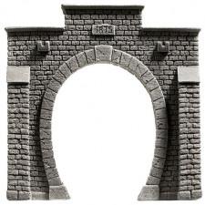 Entrée de tunnel, 1 voie, 10 x 10 cm