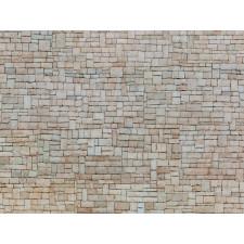 Feuille de carton 3D  Mur en pierre calcaire , bei ,