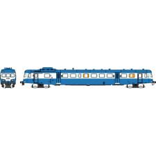 SNCF - Autorail X-2816 Dépôt de LYON-VAISE Logo Nouille Bleu Ep.IV-V