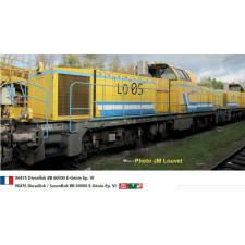 LOCO DIESEL BB60000  e genie  SNCF EP V