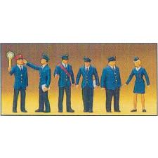 personnel de gare HO