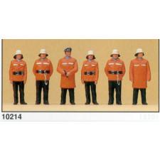 pompiers debouts