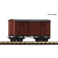 Gedeckter Waldbahn-Güterwagen