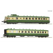 Triebzug X2700 grün/beige sncf
