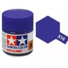X16 violet - brillant -  Tamiya - peinture acrylique 10 ml