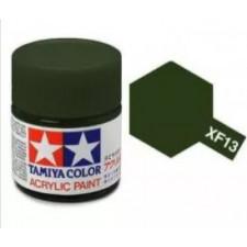 XF13 vert armée - mat -  Tamiya - peinture acrylique 10 ml