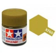 XF60 jaune foncé - mat -  Tamiya - peinture acrylique 10 ml