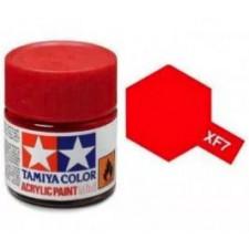 XF7 rouge - mat -  Tamiya - peinture acrylique 10 ml