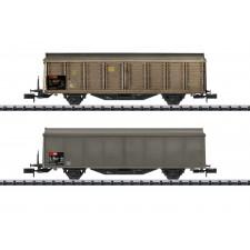 Schiebewandwagen-Set SBB